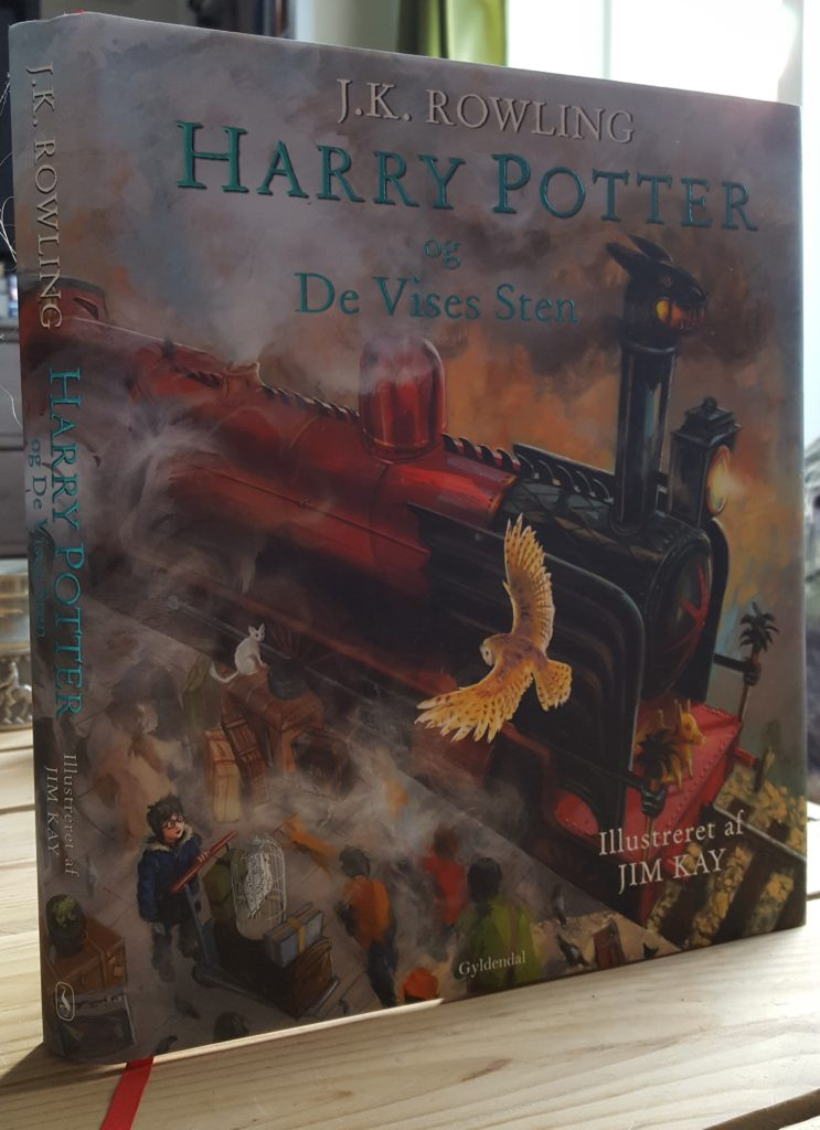 Harry Potter og de vises sten, illustreret